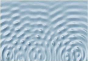 Welle ebene Welle aus Kreiswellen