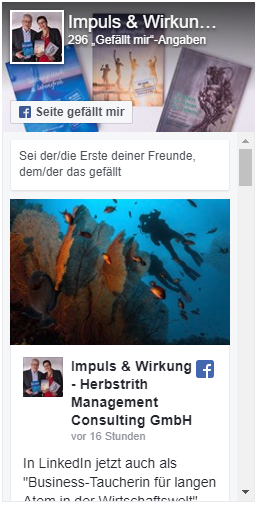 Facebook Seite impuls.at