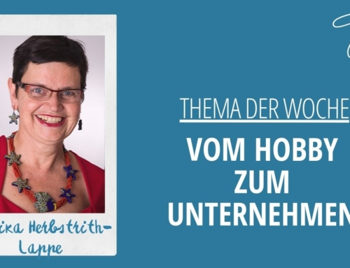 Video: Vom Hobby zum Unternehmen